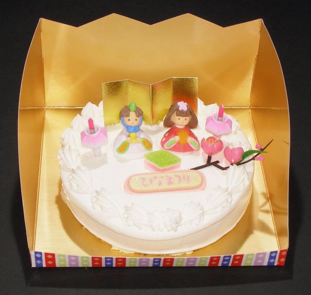 レアチーズ(6号)【ひなまつりケーキ】