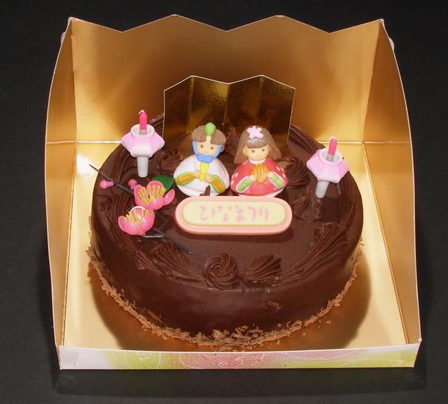ガナッシュケーキ(6号)【ひなまつりケーキ】